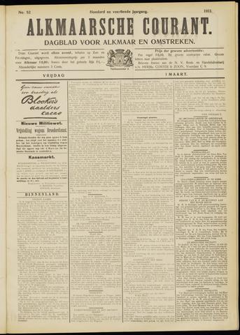 Alkmaarsche Courant 1912-03-01
