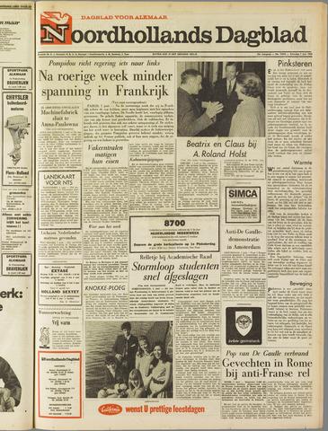 Noordhollands Dagblad : dagblad voor Alkmaar en omgeving 1968-06-01
