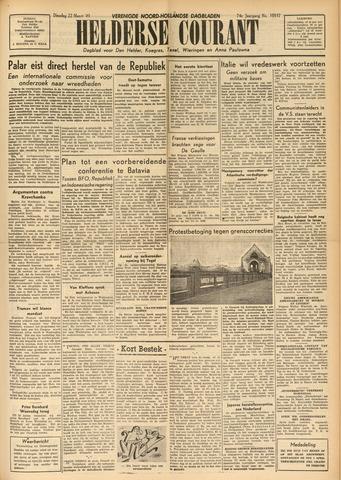 Heldersche Courant 1949-03-22