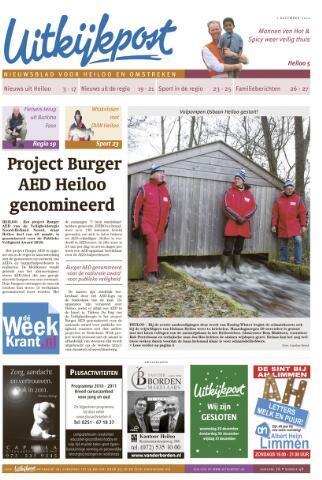 Uitkijkpost : nieuwsblad voor Heiloo e.o. 2010-12-01