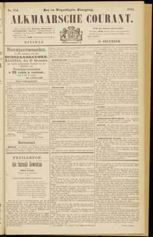 Alkmaarsche Courant 1894-12-25