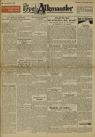 De Vrije Alkmaarder 1947-11-18