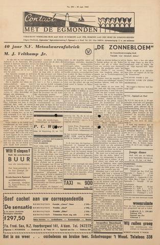 Contact met de Egmonden 1965-09-30