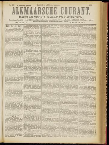 Alkmaarsche Courant 1916-09-20