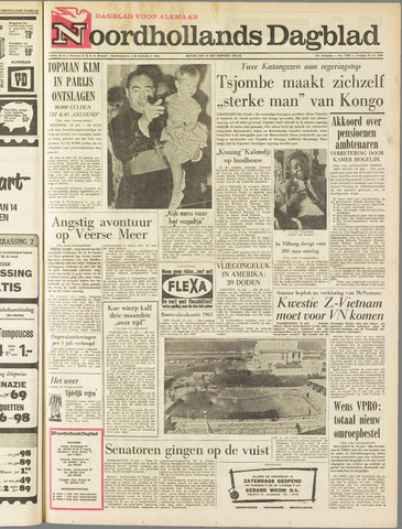 Noordhollands Dagblad : dagblad voor Alkmaar en omgeving 1964-07-10