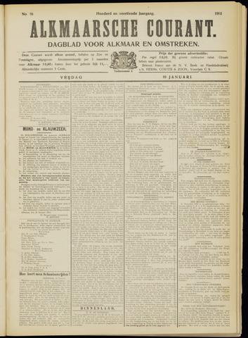 Alkmaarsche Courant 1912-01-19