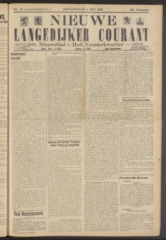 Nieuwe Langedijker Courant 1933-05-04