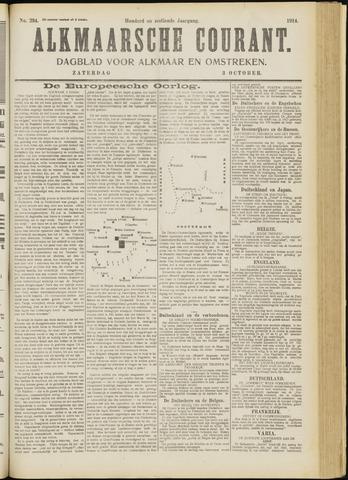 Alkmaarsche Courant 1914-10-03