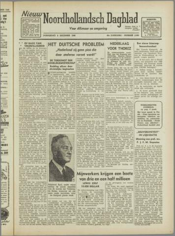 Nieuw Noordhollandsch Dagblad : voor Alkmaar en omgeving 1946-12-05