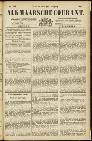 Alkmaarsche Courant 1885-12-27