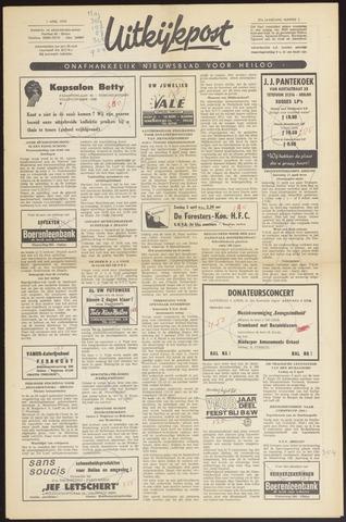 Uitkijkpost : nieuwsblad voor Heiloo e.o. 1970-04-01