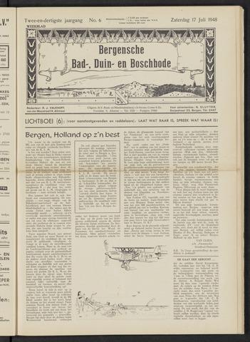 Bergensche bad-, duin- en boschbode 1948-07-17