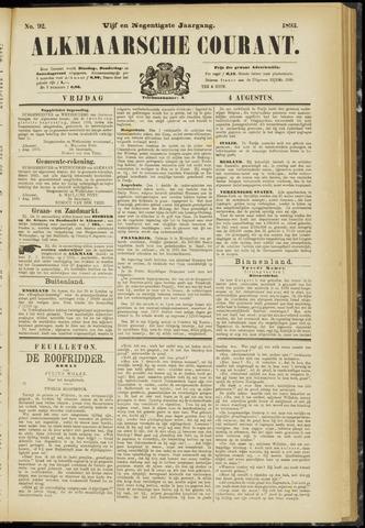 Alkmaarsche Courant 1893-08-04