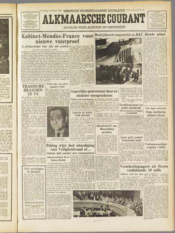 Alkmaarsche Courant 1955-02-02