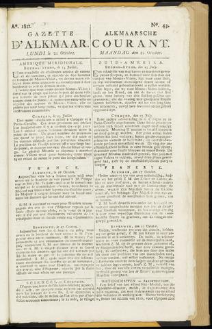 Alkmaarsche Courant 1811-10-21