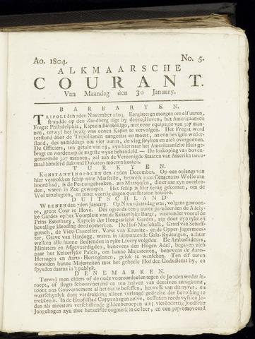 Alkmaarsche Courant 1804-01-30