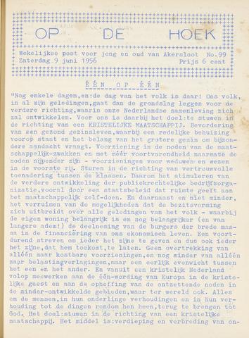 Op De Hoek, weekblad voor Akersloot 1956-06-09