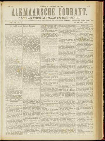 Alkmaarsche Courant 1918-08-28