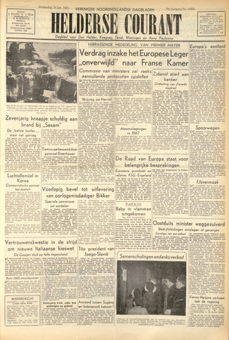 Heldersche Courant 1953-01-15