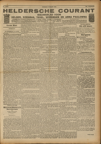 Heldersche Courant 1921-03-08