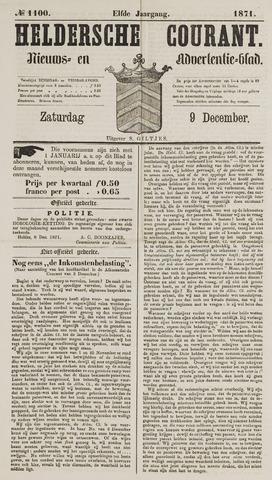 Heldersche Courant 1871-12-09