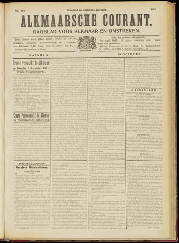 Alkmaarsche Courant 1911-10-30