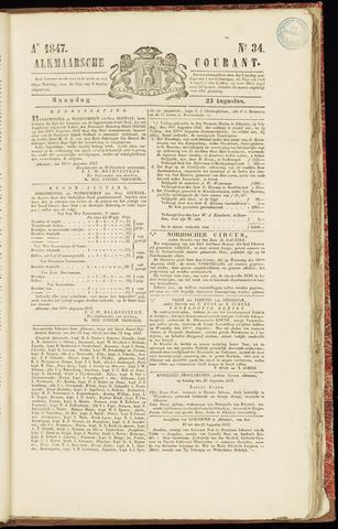 Alkmaarsche Courant 1847-08-23