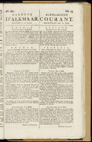 Alkmaarsche Courant 1811-07-22
