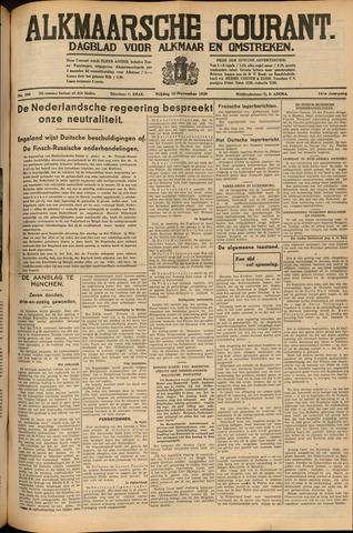 Alkmaarsche Courant 1939-11-10
