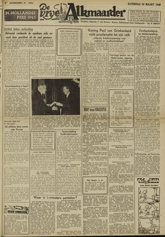 De Vrije Alkmaarder 1949-03-26