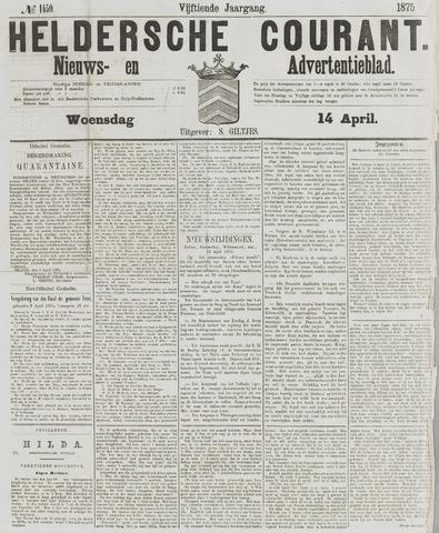Heldersche Courant 1875-04-14