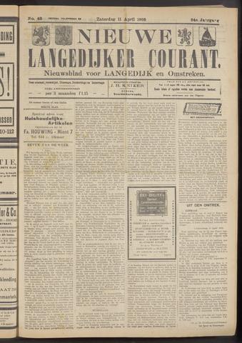 Nieuwe Langedijker Courant 1925-04-11