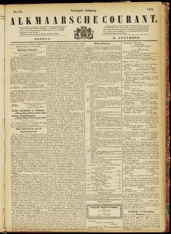 Alkmaarsche Courant 1878-11-10