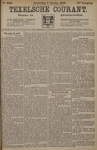Texelsche Courant 1916-10-05