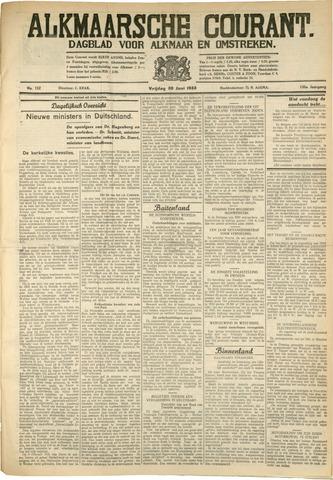 Alkmaarsche Courant 1933-06-30