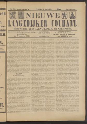 Nieuwe Langedijker Courant 1922-05-09