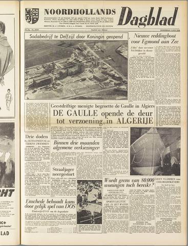 Noordhollands Dagblad : dagblad voor Alkmaar en omgeving 1958-06-05