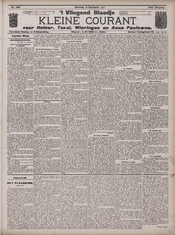 Vliegend blaadje : nieuws- en advertentiebode voor Den Helder 1913-09-13