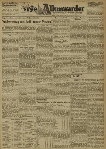 De Vrije Alkmaarder 1946-04-23