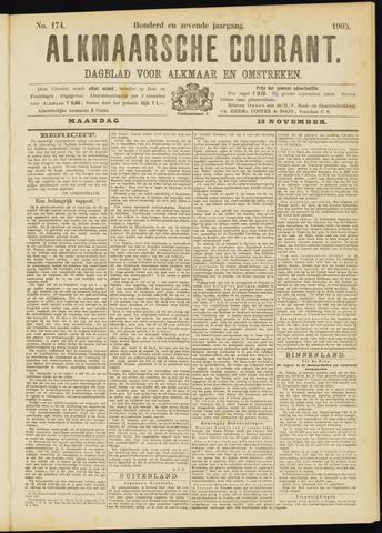 Alkmaarsche Courant 1905-11-13