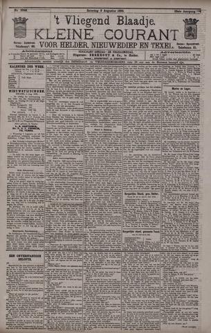 Vliegend blaadje : nieuws- en advertentiebode voor Den Helder 1895-08-03