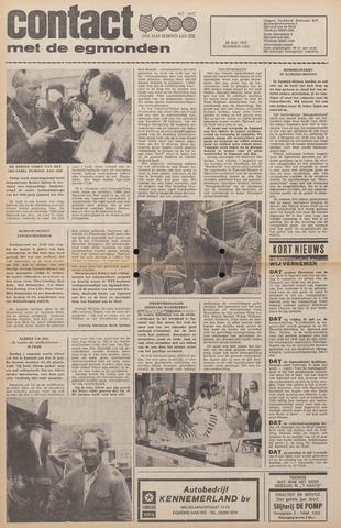 Contact met de Egmonden 1976-07-28