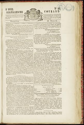 Alkmaarsche Courant 1852-03-29