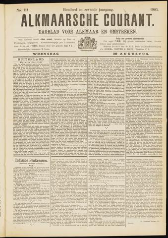 Alkmaarsche Courant 1905-08-30