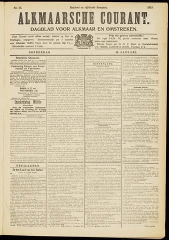 Alkmaarsche Courant 1913-01-16