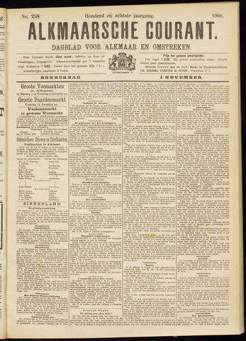 Alkmaarsche Courant 1906-11-01
