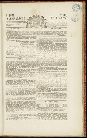 Alkmaarsche Courant 1851-08-18