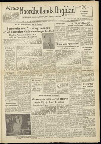 Nieuw Noordhollandsch Dagblad : voor Alkmaar en omgeving 1948-10-21