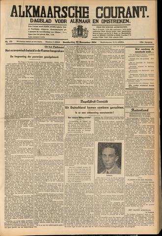 Alkmaarsche Courant 1934-11-22