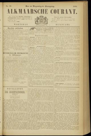 Alkmaarsche Courant 1894-01-24